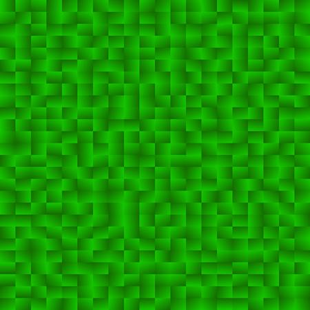 pixelation: Mosaic of squares with random gradients. Mosaic, stonework pattern.