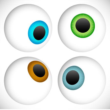 sense of sight: Eyeball - Eye icons