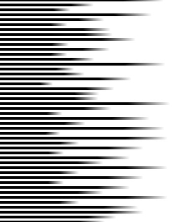 lineas rectas: Parallel straight lines monochrome pattern geometric texture Vectores