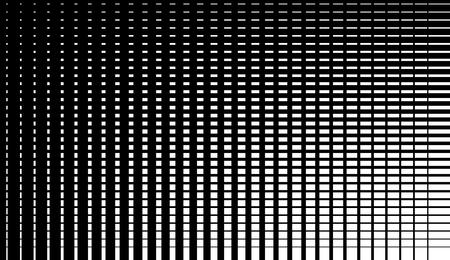 Asymmetric grid mesh pattern. irregular monochrome abstract texture Vector Illustration