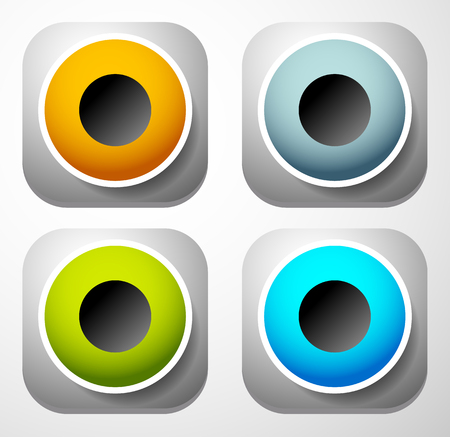 sub woofer: Speaker icon for audio, music related themes Illustration