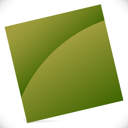 tilting: Blank square with gloss effect - Tilted square icon