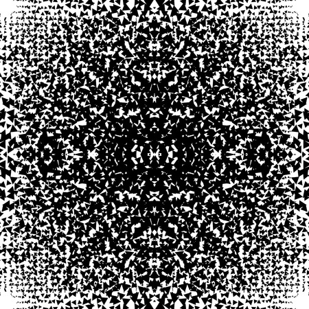 chaotic: Chaotic abstract monochrome texture with random triangles