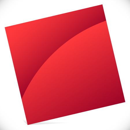 brigh: Blank square with gloss effect - Tilted square icon