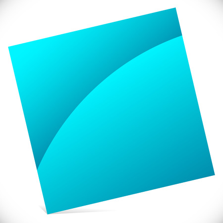 tilted: Blank square with gloss effect - Tilted square icon