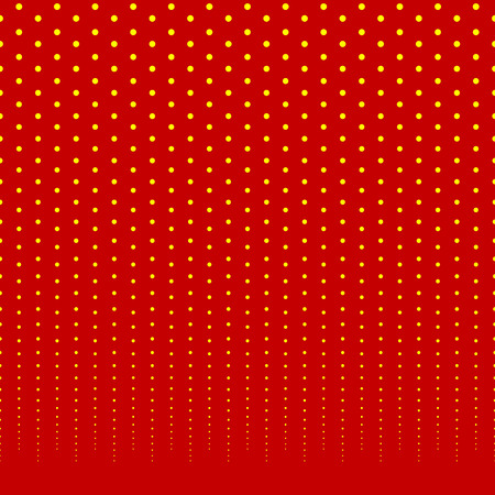 Horizontally repeatable halftone background  pattern fading from top. Illustration