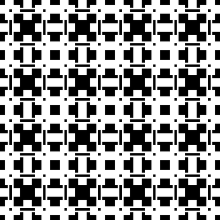 reticular: Geometric abstract black and white pattern  texture