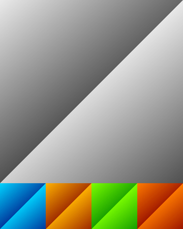 Banner  button background with diagonal gradient effect