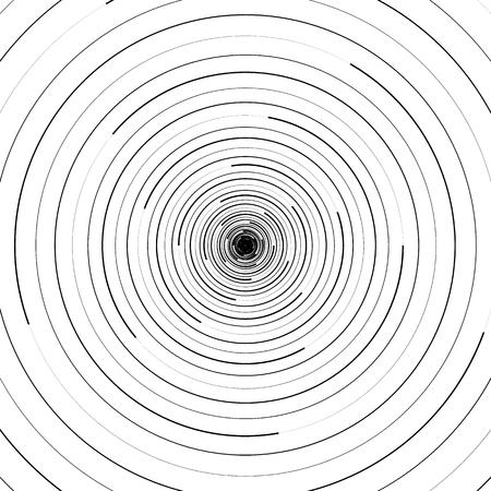 同心円の波紋。円形の幾何学的な背景。 写真素材 - 66598665