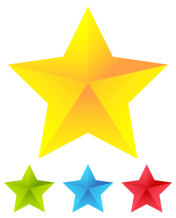 Star icon for rating, ranking, quality concepts Illustration