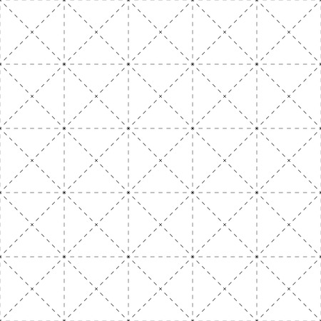 reticule: Repeatable detailed grid, mesh pattern. (Black and white versions) Illustration