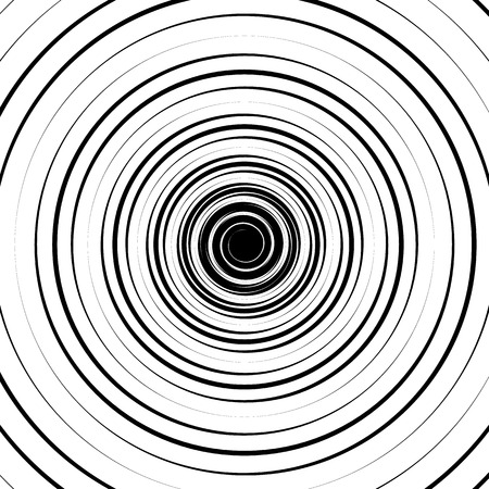 epicentre: Ripple pattern with concentric circles. Circular geometric background.