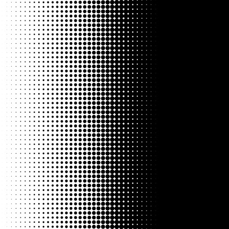 tone: Vertical half tone pattern with dots - Monochrome halftone texture