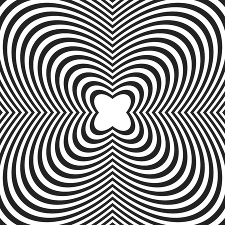 crinkle: Concentric lines with distortion. Radial lines, radiating pattern with deformation effect