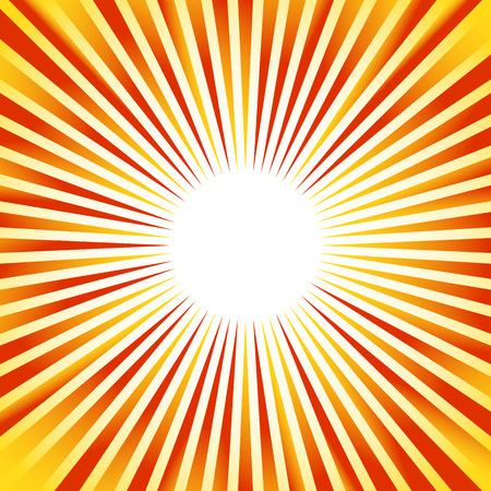 Raggi, travi, starburst (solarizzazione) modello. linee convergenti sfondo astratto.
