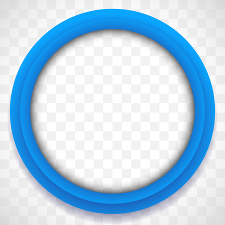 Circle icon. Colorful icon background. Abstract lens element Illustration