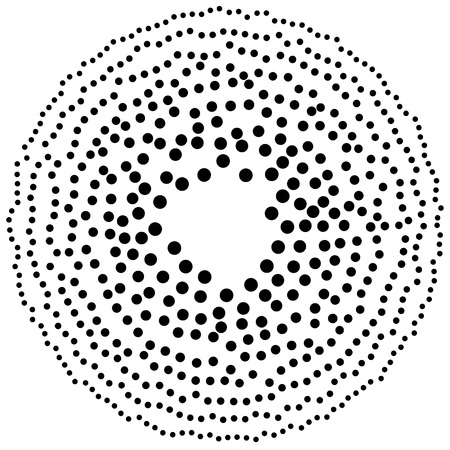 speckle: Random circles, dots abstract element, circular shape