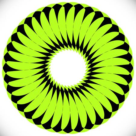 whirlpool: Geometric circle element(s). Abstract circular shape Illustration