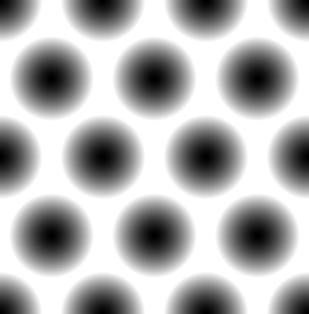 eyestrain: Seamless pattern with faded circles - Dotted, polkadot pattern, background