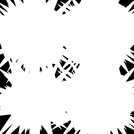 distort: Textured vector element � Abstract random geometric illustration