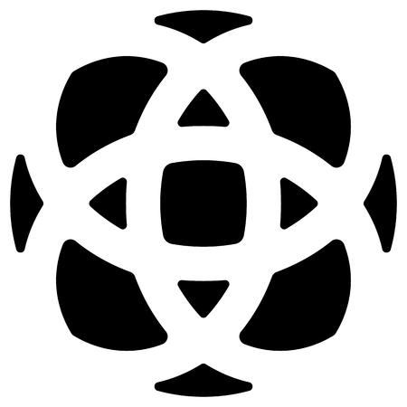 camber: Geometric circular - symmetric element, symbol
