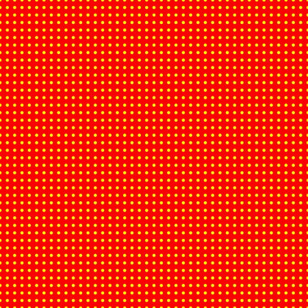 50s: Red and yellow (50s, 60s popart) background pattern.