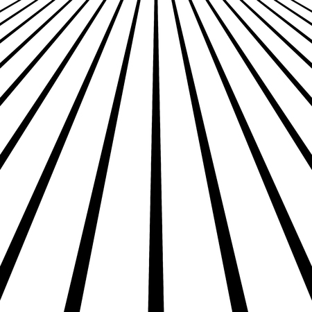 offset views: 3d vanishing, converging lines. Spatial space, zoom lines, perspective background