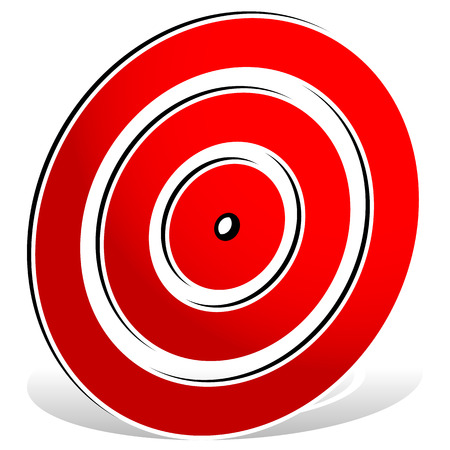 reticule: Red target mark - target icon