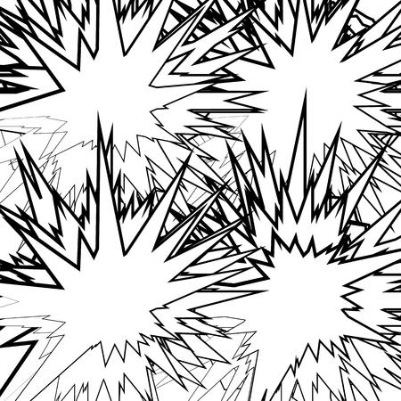 Textured vector element – Abstract random geometric illustration