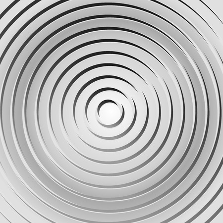 Concentric rings, circles pattern. Circles background pattern. Illustration