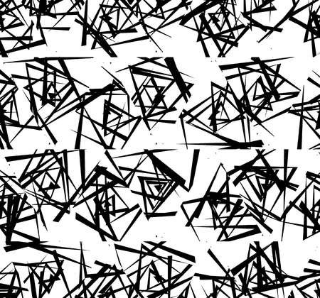 eccentric: Rough edgy texture with random intersecting lines