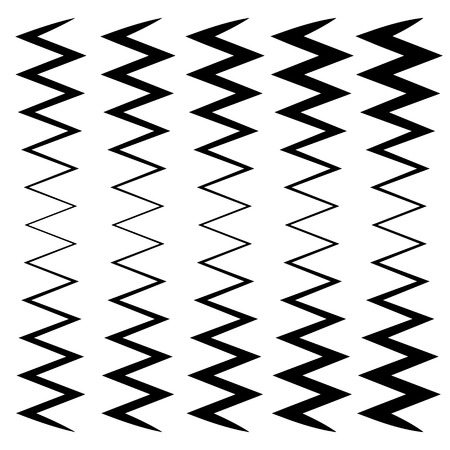 camber: Wavy, zig-zag lines - Thinner and thicker versions. Irregular lines, stripes.
