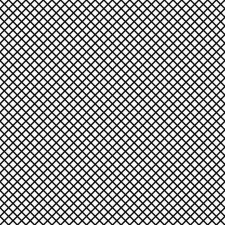 reticular: Mesh of lines repeatable pattern. Simple geometric texture with grid of straight parallel stripes, lines