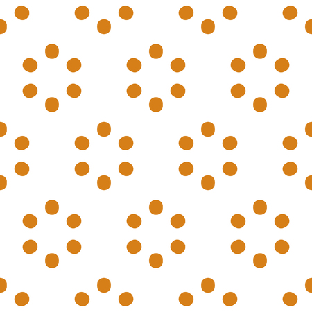 speckled: Repeatable polkadot pattern with structure of circles
