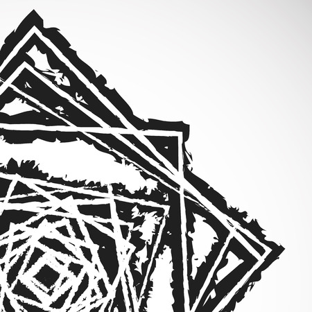 anarchism: Grungy textured abstract illustration (graphic isnt cut at edges) Illustration