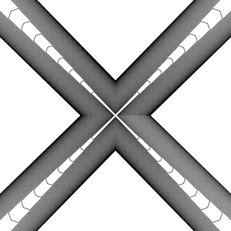 angular: Random monochrome glitchy, rough texture, pattern. Illustration