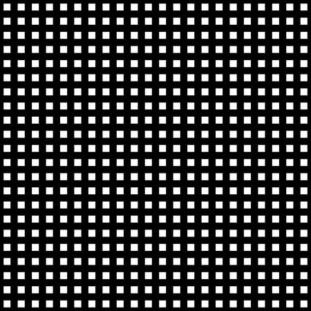 Grille irrégulière, motif de maille, texture géométrique abstraite monochrome Vecteurs
