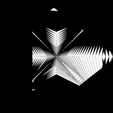 disturbing: Random monochrome glitchy, rough texture, pattern. Geometric chaotic illustration