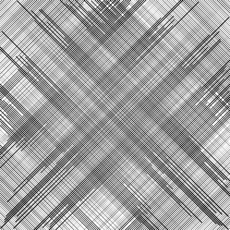 reticular: Irregular dynamic lines abstract monochrome pattern. Linear (grid, mesh) texture