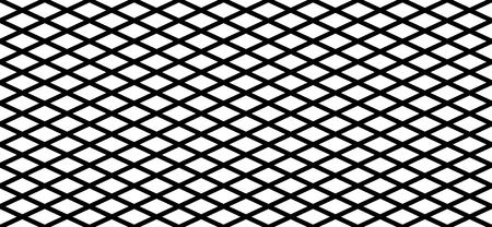 Grille irrégulière, motif de maille, texture géométrique abstraite monochrome
