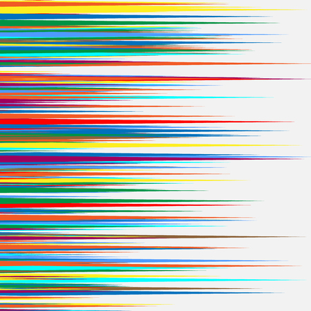 disorganized: Random colorful geometric pattern  texture. Mottled illustration of random overlapping shapes. Abstract geometric image. Artistic multicolor illustration. Abstract pattern. Illustration
