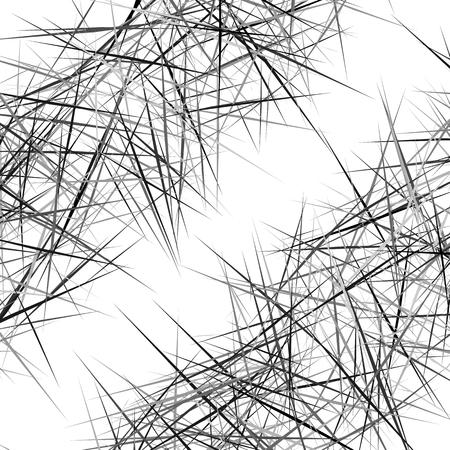 Texture géométrique abstraite, modèle avec des lignes aléatoires dynamiques. Arrière-plan asymétrique avec des lignes irrégulières. Texture abstraite