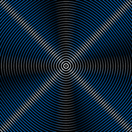 Intersecting concentric circles. Moire, noise effect texture  pattern