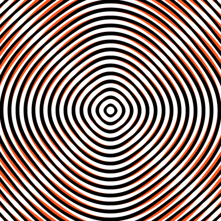 circulos concentricos: Intersecting concentric circles. Moire, noise effect texture  pattern