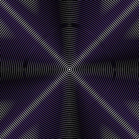 intersecting: Intersecting concentric circles. Moire, noise effect texture  pattern