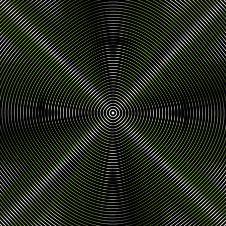 moire: Intersecting concentric circles. Moire, noise effect texture  pattern