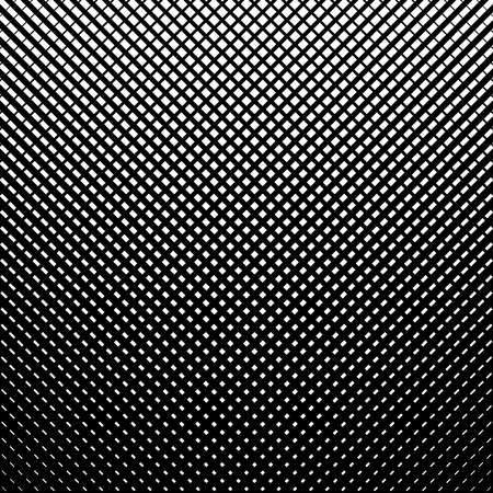 Grid, mesh, lines background. Geometric texture, pattern with halftone print Ilustrace