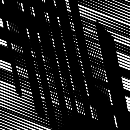 grille: Random intersecting lines abstract geometric pattern. Random grid, mesh texture
