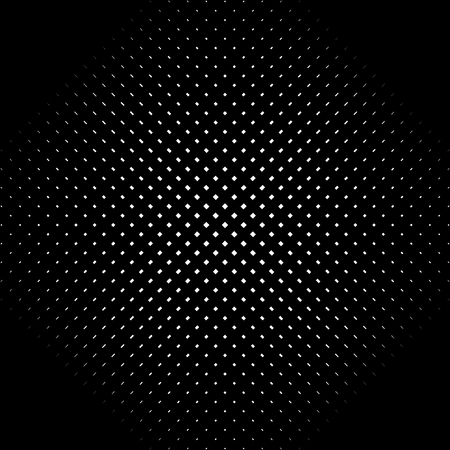 Abstract linear black and white texture. Mesh, array of lines geometric pattern Ilustração