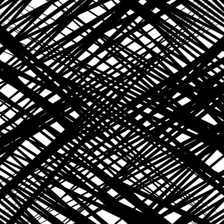 Random intersecting lines abstract geometric pattern. Random grid, mesh texture